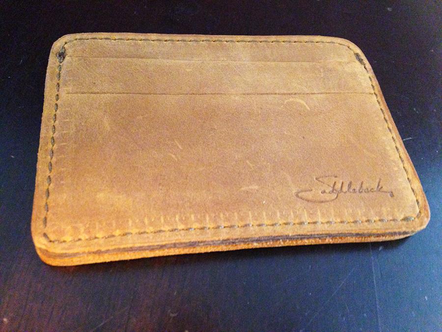 Wallet Saddleback Saddleback Leather Wallet Side